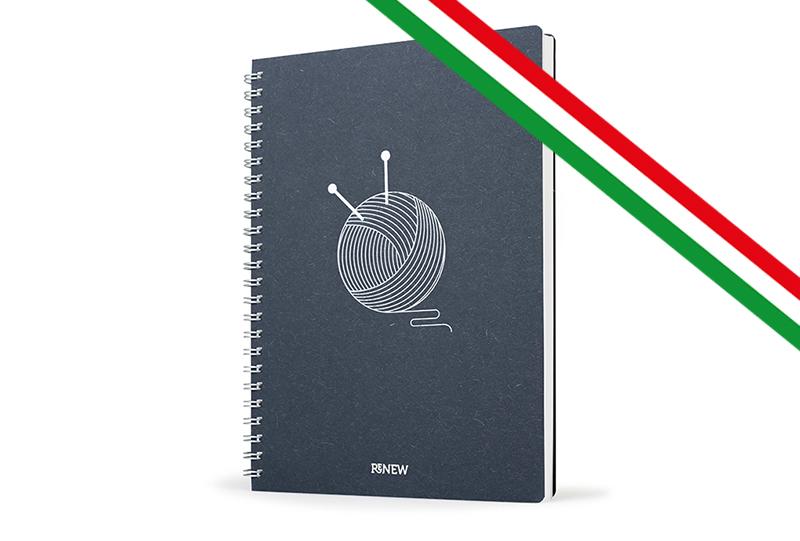 copertina eco agenda made in italy tricolor