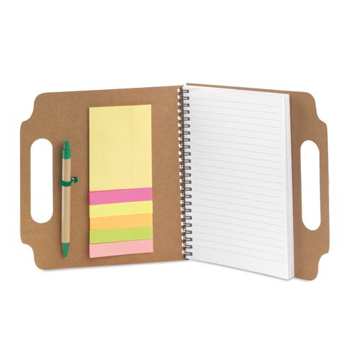 Bloc-Notes Makron - cartone riciclato eco